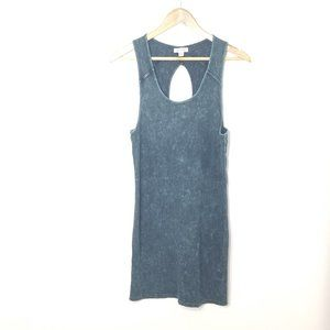 Silence + Noise   Ribbed Knit Bodycon Mini Dress L